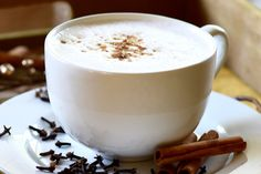 Autumn Spiced Trimmy (FP) - a delicious hot drink, perfect for fall, that meets Trim Healthy Mama guidelines