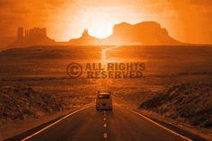 Poster: Monument Valley zum Verkauf online. Bestellen Sie Ihre Poster, Ihre 3D Film-Poster oder ähnliches interessantes Deco Panel 60x90