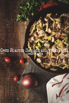 Oven Roasted Sausage and Vegetables