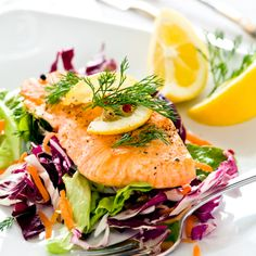 Is Salmon Anti-inflammatory? The short answer to this question is yes. Salmon is a great source of anti-inflammatory nutrients that our bodies need. There are tons of other sources of omega-3's, like plant-based omega-3. However fish-based omega-3s are much more coveted. Let's discuss to know why. Read this post to get a list of reasons why salmon is anti-inflammatory! Lemon Dill Salmon, Anti Inflammatory Recipes, Recipe Today, Salmon Burgers, Seafood Recipes, Good Food, Appetizers, Nutrition, Healthy Recipes