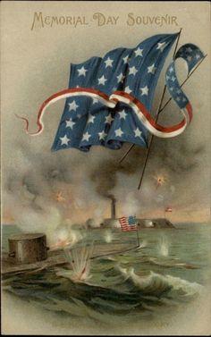 1910 Winsch Memorial Day ironclads