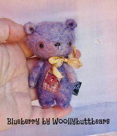 Blueberry Bear by Woollybuttbears