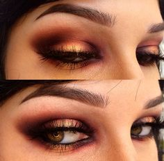 """lickgold: """" Spent more time on my eye makeup """""""