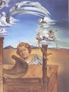Melancholy by Salvador Dali, 1942                                                                                                                                                                                 Mehr