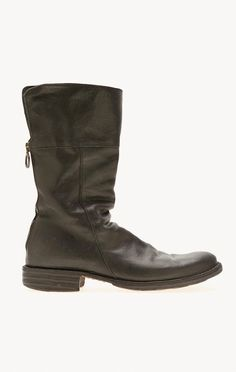 slouchy design back zip boot by FIORENTINI + BAKER
