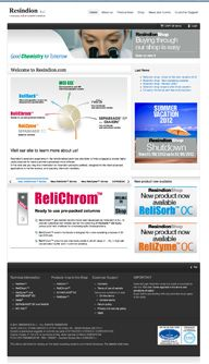 Online since February 2011,  RESINDION srl - Good Chemistry for Tomorrow, Binasco (MI), Italy