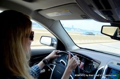 #GMCNYC Lend a Green Thumb Event / @GirlAT enjoying the ride out of the city to the Independent Garden Center.  I enjoyed the ride as passenger - it was easy to Twitter with the smooth ride in the #GMC