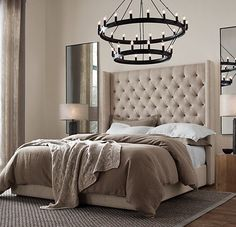 Gloria Modern Bed | French Provincial Bedroom Furniture | Buy Beds - Bedrooms by AURA Perth WA
