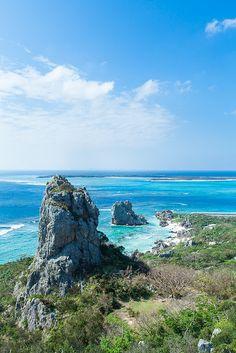 Izena Island, Okinawa, Japan