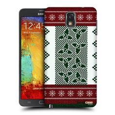 Head Case Designs Smittens Knitted Christmas Design for Samsung Galaxy Note 3 N9000 N9002 N9005