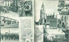 Militaria: LIBRO 52 PAG. DE - ESTAMPAS DE LA GUERRA CON MAS DE 214 FOTOS ALGUNAS INEDITAS EDIT. ZARAGOZA 1937 - Foto 3 - 50755806