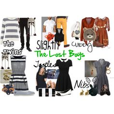 """The Lost Boys - Peter Pan"" by squirtaltears on Polyvore"