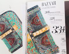 """Check out new work on my @Behance portfolio: """"Illustrations for Harpers Bazaar"""" http://on.be.net/133K3gW"""