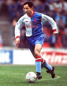 Osvaldo Ardiles of Blackburn Rovers in 1988.