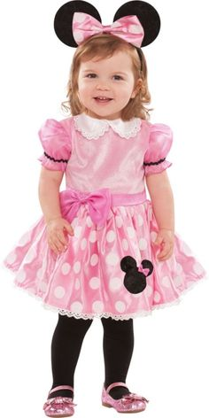Baby Pink Minnie Mouse Costume - Party City
