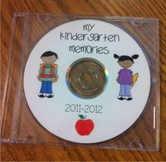 Teach Junkie: 17 Simple End of the school Year Student Gifts and Writing Activities - Create Photo CD