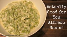 Clean Eat Recipe :: Actually Good for You Alfredo! - He and She Eat Clean: A Guide to Eating Clean... Married!