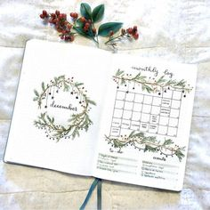 58 Stunning December Bullet Journal Cover Page Ideas - Bliss Degree Bullet Journal Weekly Layout, December Bullet Journal, Bullet Journal Monthly Spread, Bullet Journal Cover Page, Bullet Journal 2020, Bullet Journal Aesthetic, Bullet Journal Ideas Pages, Bullet Journal Inspiration, Bullet Journals