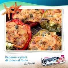 Sfizi d'estate: la rotta ci porta fino al gusto deciso dei peperoni ripieni di tonno della nostra chef Marisa del blog Il mio saper fare. Un mare di bontà!  http://blog.giallozafferano.it/loti64/peperoni-ripieni-di-tonno-al-forno  #peperoni #tonno #tuna #ricetta #recipe