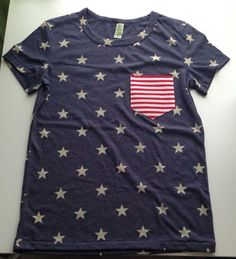 THE perfect shirt for Fourth of July and such a great price. Gotta order mine soon. 4th of July is coming up!