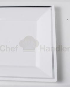 Our Imperial Clear Square Plastic Plate is available at Chef Handler ...