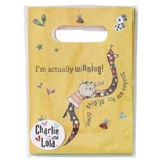 Charlie & Lola Paper Party Loot Bags by Party Bags 2 Go. $16.99. Pack of 8 Paper Loot Bags. The essential goody bag to end any kids birthday party. Fill with Charlie & Lola bubbles, balloons and other little gifts.