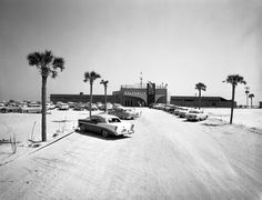 View of the entrance to Gulfarium - Fort Walton Beach, Florida 1957.  My Mom and Day Honeymooned here in 1954.  We have gone to the beach almost every year since.