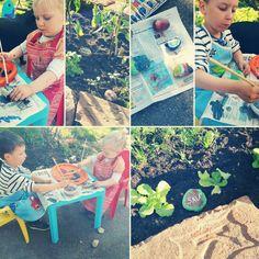 Beschriftung Gemüsebeet, Hochbeet, Steine bemalen mit Acrylfarbe; Picnic Blanket, Outdoor Blanket, Painting On Stones, Projects, Picnic Quilt