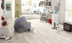 Flooring fit for a busy and active teenager. Egger laminate flooring from Germany = Classic Bardolino Oak In. Wood Flooring Sale, Gray Wood Laminate Flooring, Hardwood Floor Colors, Hardwood Floors, Grey Flooring, Egger Laminat, Spotted Gum Flooring, Light Oak, Bean Bag Chair