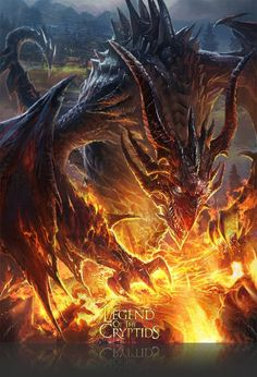 Artist: Atents - Title: 07legendch - Card: Insightful Scorch Dragon (Altruist)