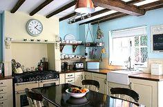Feature Fireplace Rangemaster Cooker, Butler Sink, Beams