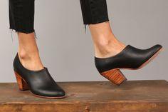slip-on ankle booties, handmade in Peru