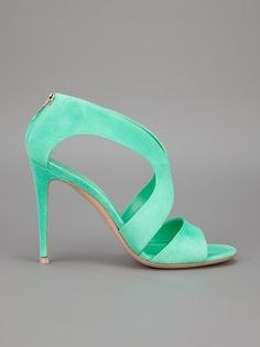 Mint Mint Mint!  I love these shoes, now if only I had something to where them with!