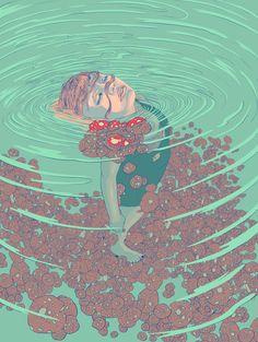 Underwater Art Print by Alterlier | Society6