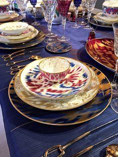 The Chic Table | Hermès Voyage en Ikat - Quintessence