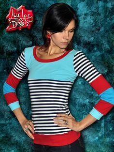 Red+TyrKiss+Šité+tričko+z+dielne+LucLac+hrubší+teplučký+no+príjemný+bavlnený+úplet+Možnosť+objednávky+akejkoľvek+veľkosti+-+šijeme+na+mieru+