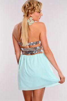 #mint #dress