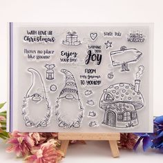 Günstige NCraft Clear Stamps N1346 Scrapbook Paper Craft Clear stamp scrapbooking, Kaufe Qualität Briefmarken direkt vom China-Lieferanten: NCraft Clear Stamps N1346 Scrapbook Paper Craft Clear stamp scrapbooking