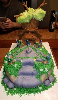 25 Ingenious Cakes That Will Make Your Mouth Water - Ftw Gallery Zelda Birthday, 11th Birthday, Man Birthday, Birthday Gag Gifts, Birthday Cakes For Men, Birthday Sayings, Birthday Images, Birthday Greetings, Birthday Wishes