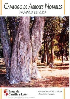 CATÁLOGO DE ÁRBOLES NOTABLES DE LA PROVINCIA DE SORIA. Molina Martín, Carlos (dir.) Realizado por el grupo ecologista A.S.D.E.N recoge todos aquellos ejemplares que por su edad, tamaño, rareza en nuestras tierras, o incluso por su forma merecieran figurar en él. Se ha pretendido denotar una parte muy valiosa del patrimonio natural soriano. Contiene 90 fichas. Disponible en http://roble.unizar.es/record=b1454915~S4*spi