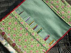 how to sew a crochet hook case | Bockfilz: Still crocheting like mad ...