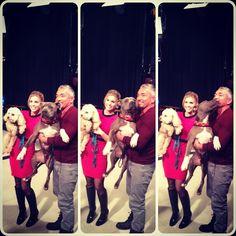 Junior got his kiss. #GDLA #GoodDayLA #junior #cesarmillan #silly #funny #pitbull #pitbullofinstagram #dog #instagood #instalove @maria_sansone