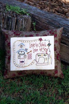 stitchery   Stitchery Patterns:  Love To Stitch