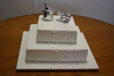 Engagement cake, via Flickr.