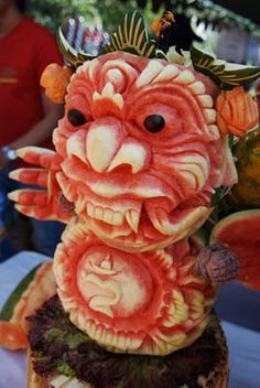 Food Carving - Bing Images
