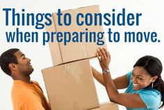 Packing tips, and organizing tips for moving into your new apartment