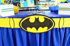 Batman Birthday Party Ideas | Photo 22 of 24 | Catch My Party