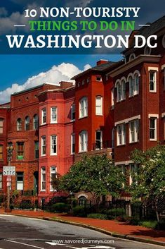 These non-touristy, unconventional things to do in Washington DC will definitely add local flavor and a unique flare to your trip to the Nation's capital. Viaje A Washington Dc, Washington Dc Vacation, Washington Dc With Kids, Washington Dc Area, Washington Dc Shopping, Washington Dc Activities, Living In Washington Dc, Washington Dc Restaurants, Washington University