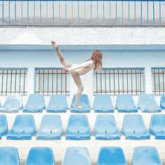 TriBune by MariaSvarbova Narrative Photography, Art Photography, Vive Le Sport, Amsterdam Photography, Fashion Mode, Over The Rainbow, Shades Of Blue, Photo Sessions, Photo Book