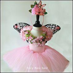 childrens fairy princess costume   Fairy Costume - Children's size 6/8 - Flower Girl - Fairy Princess ...